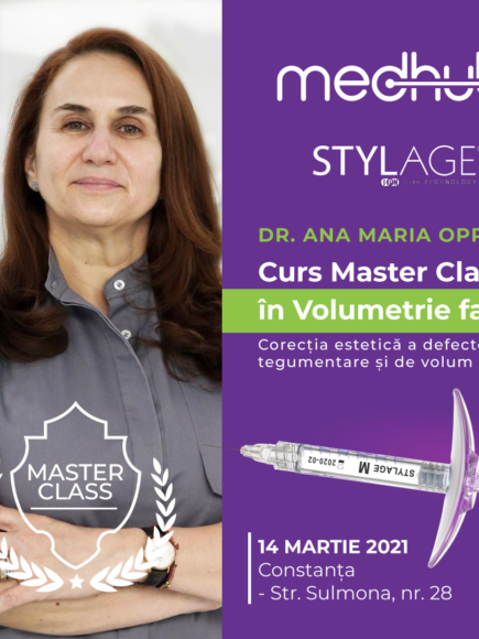 MASTER CLASS IN VOLUMETRIE FACIALA – STYLAGE